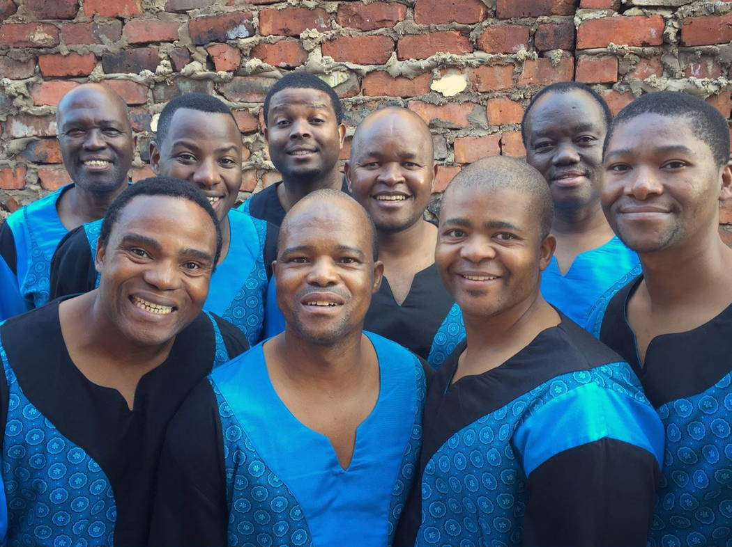 Ladysmith Black Mambazo performs Feb. 3 at Sammy Davis Jr. Festival Plaza.