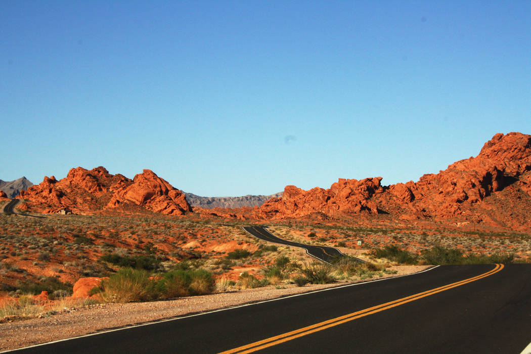 Even if you don't hit any of the trails in Valley of Fire State Park, just driving around is a feast for the eyes. (Deborah Wall)