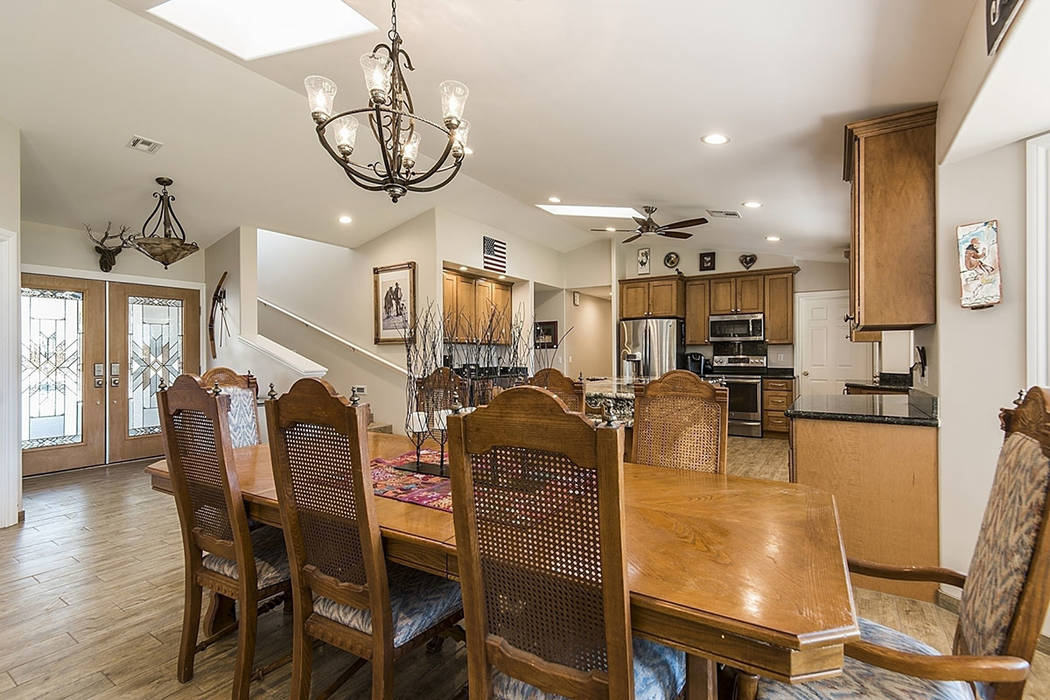 The kitchen at 9590 Mule Deer Road. (Realty One Group)
