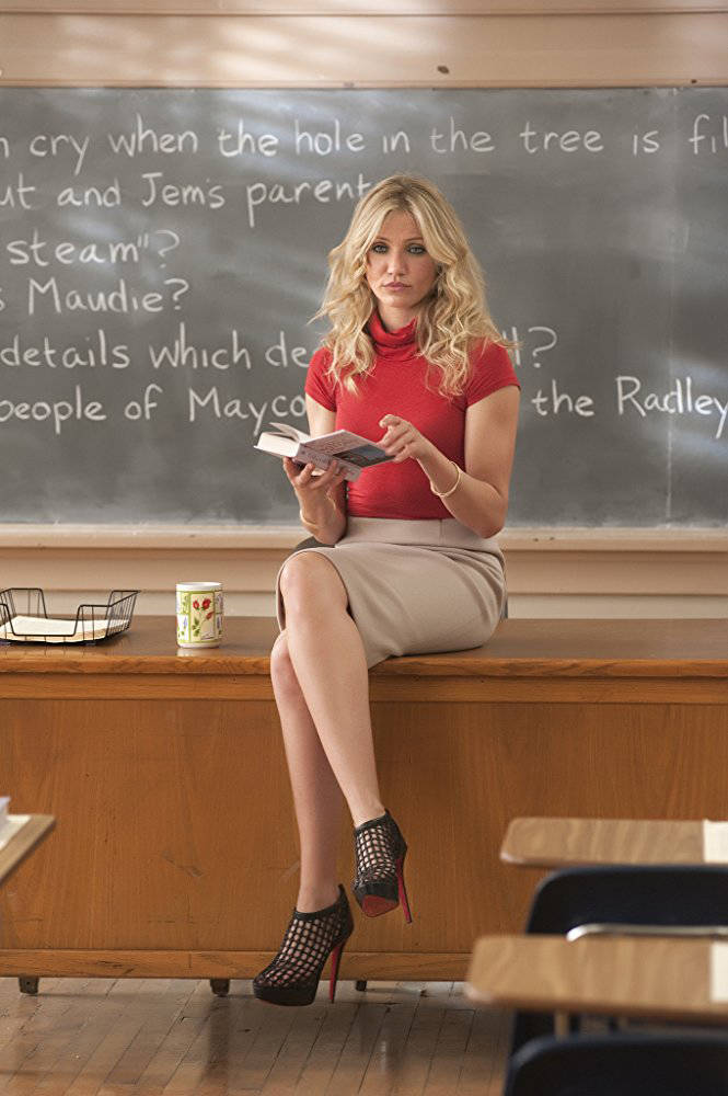 "Cameron Diaz stars in ""Bad Teacher.""  Gemma LaMana - © 2011 Columbia TriStar Marketing Group, Inc. All Rights Reserved."