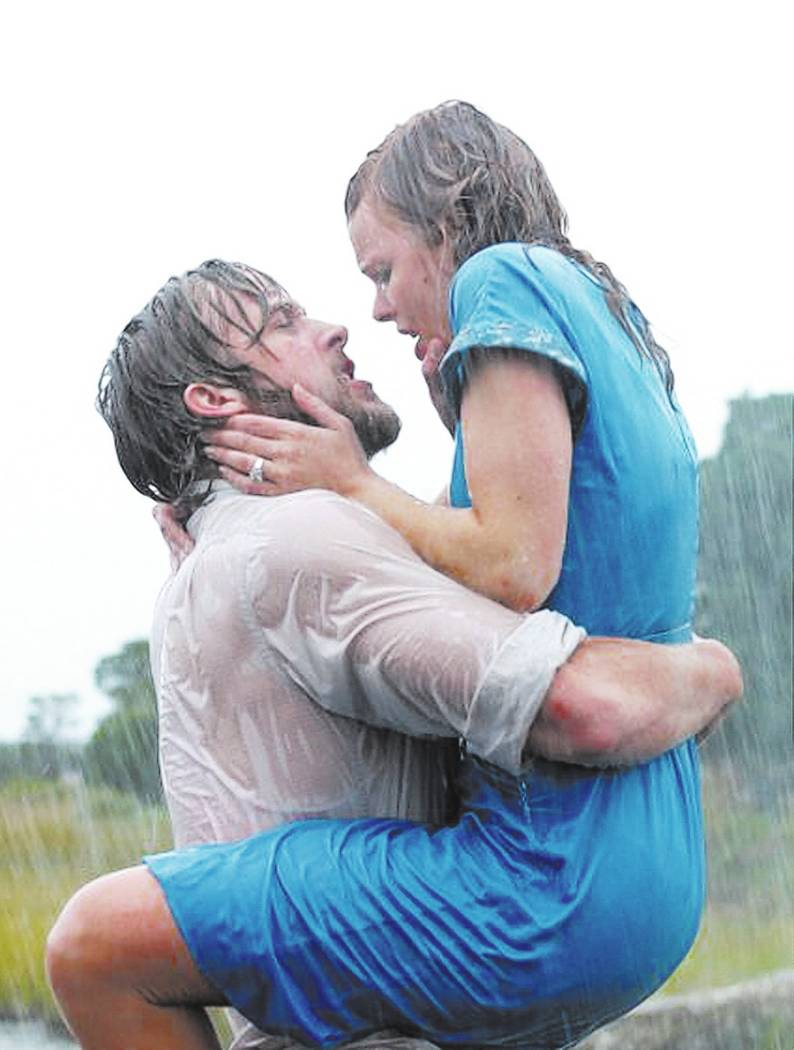 "Ryan Gosling and Racehl McAdams in ""The Notebook,"" New Line Cinema"