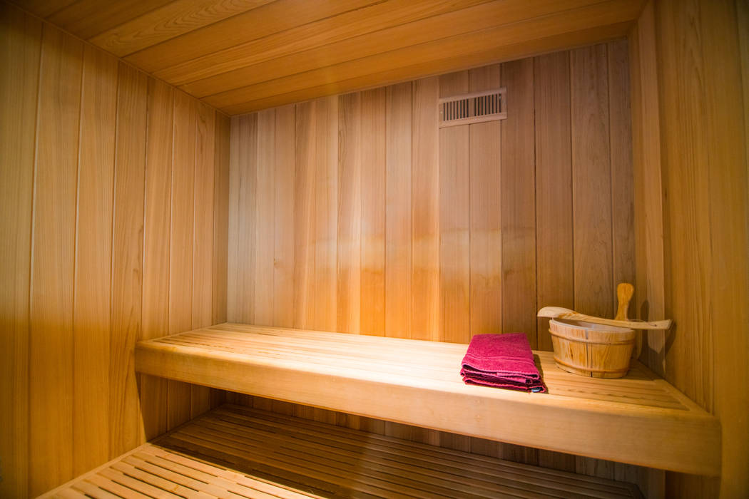 The home features a sauna. (Oliver Luxury Real Estate)