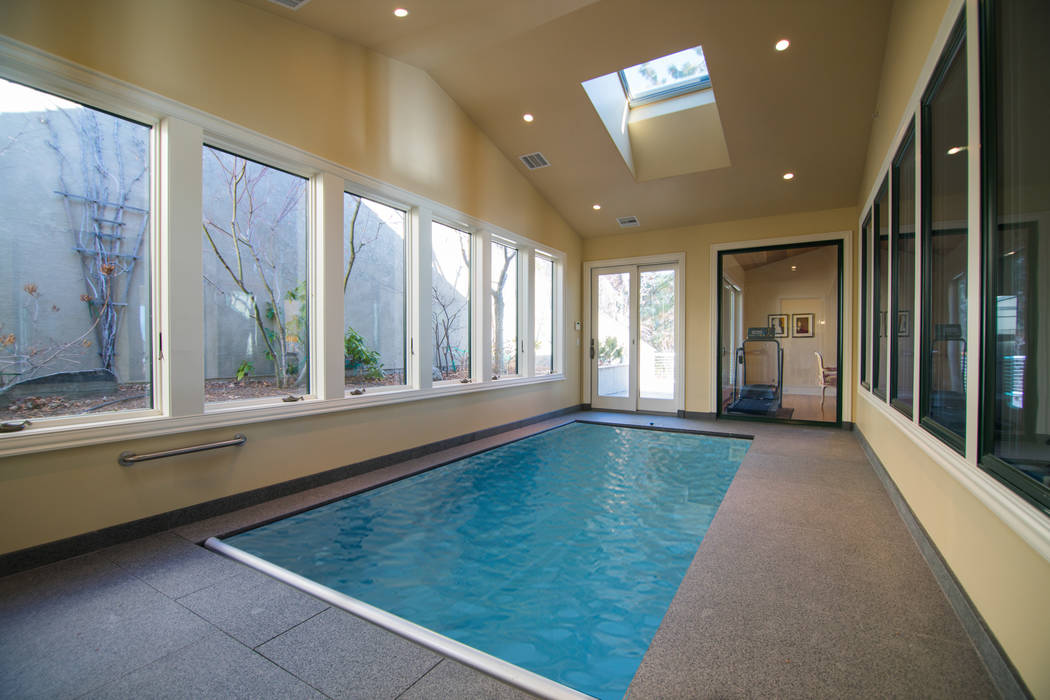 The home features an indoor pool. (Oliver Luxury Real Estate)