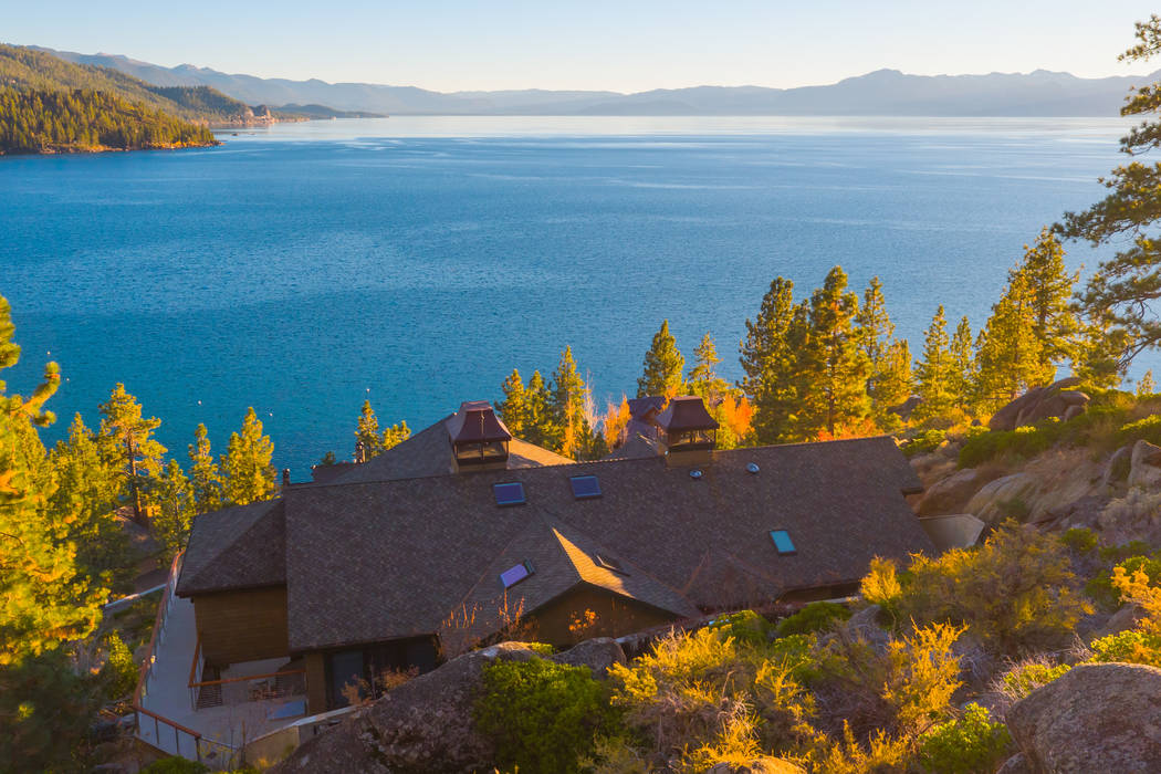 "The ""Spirit of the Lak,"" in Tahoe Glenbrook has views of Lake Tahoe. (Oliver Luxury Real Estate)"
