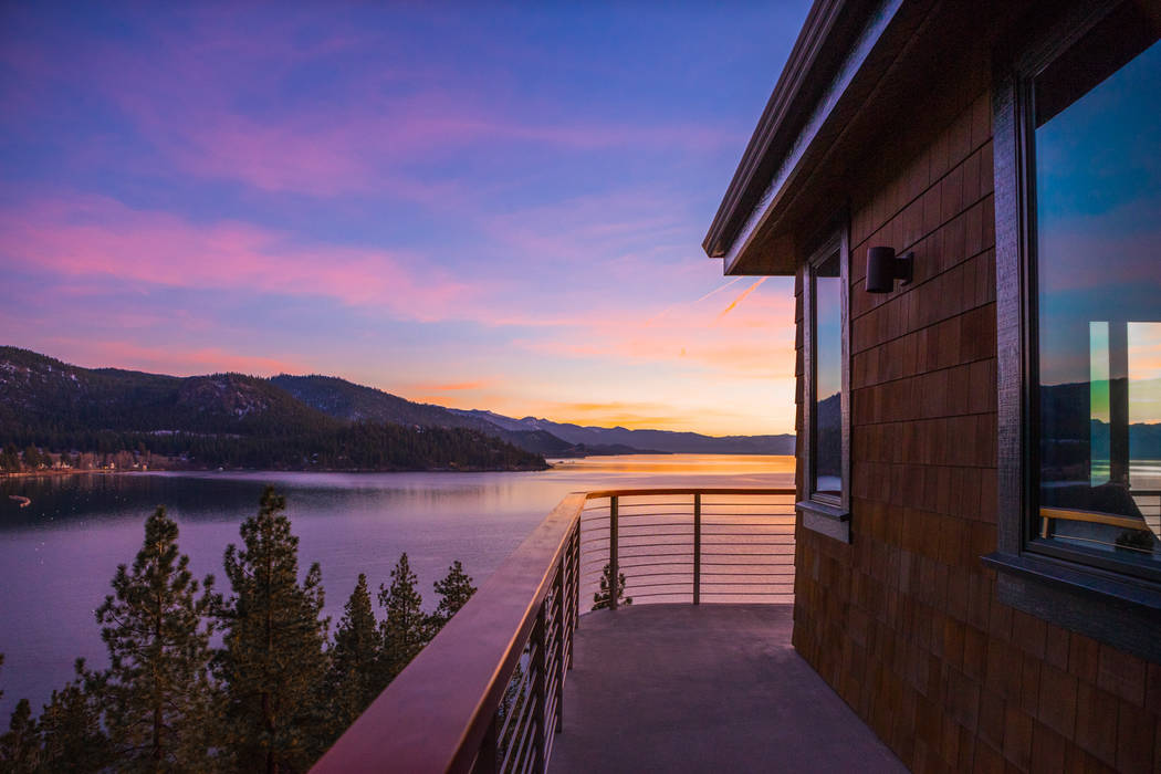 The home is on Lake Tahoe. (Oliver Luxury Real Estate)