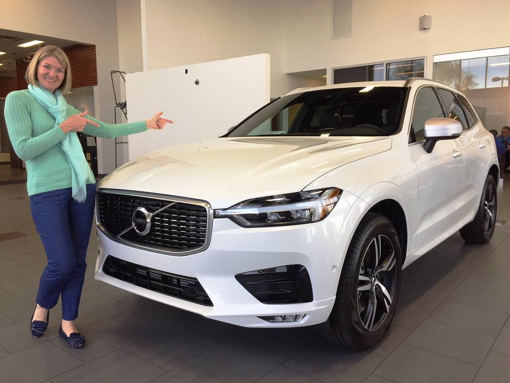 Findlay Volvo Cars Marketing executive Michelle Baert became the first buyer at Findlay Volvo Cars Las Vegas when she purchased a 2018 XC60 Volvo R-Design sport utility vehicle.