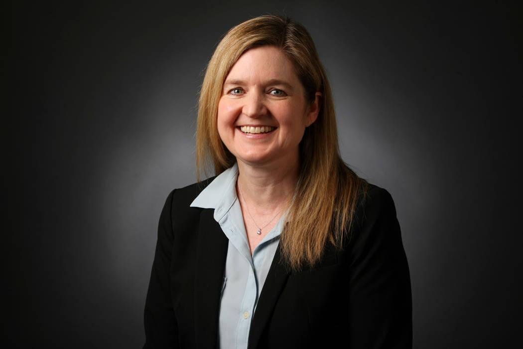 Carri Geer Thevenot, metro editor of the Las Vegas Review-Journal. (Elizabeth Brumley/Las Vegas Review-Journal) @EliPagePhoto