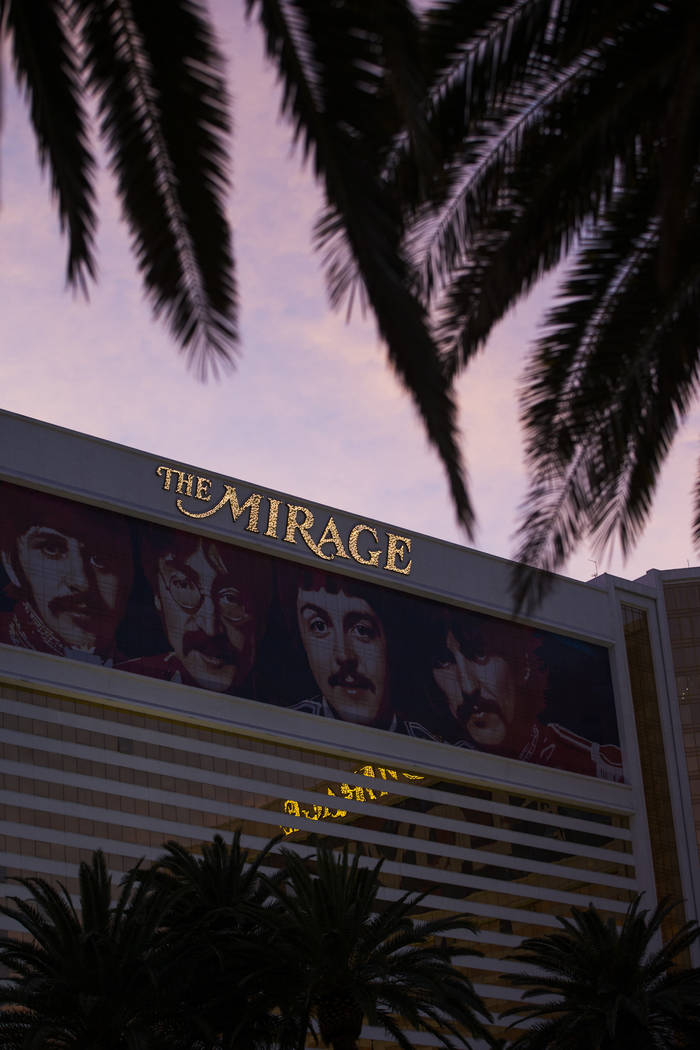 The Mirage in Las Vegas on Saturday, Feb. 3, 2018. Chase Stevens Las Vegas Review-Journal @csstevensphoto