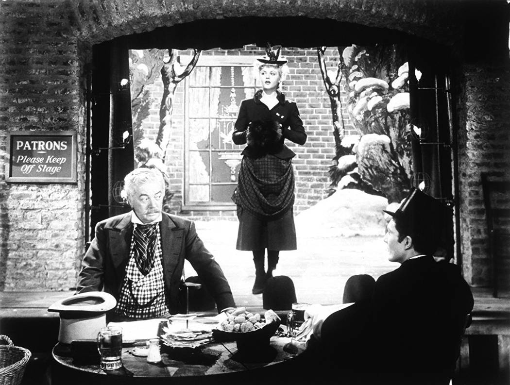 "Angela Lansbury appears in a scene from 1945's ""The Picture of Dorian Gray."" (Warner Bros.)"