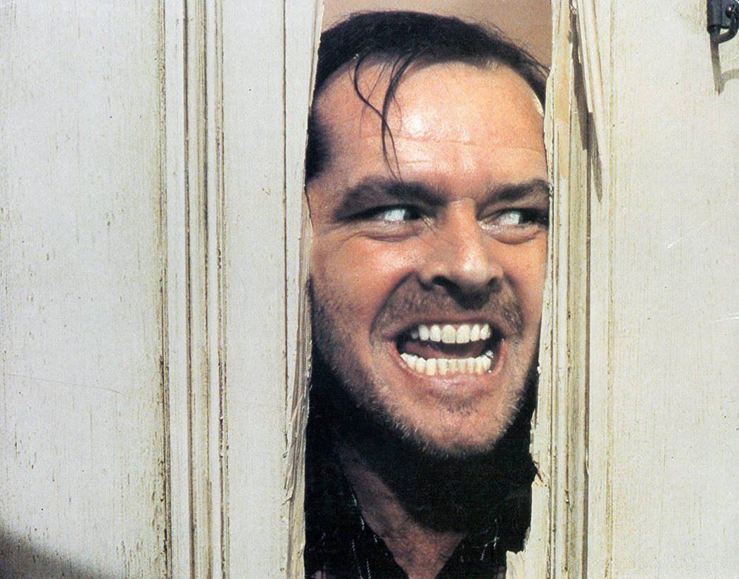 "Jack Nicholson stars in ""The Shining."" (Warner Bros.)"