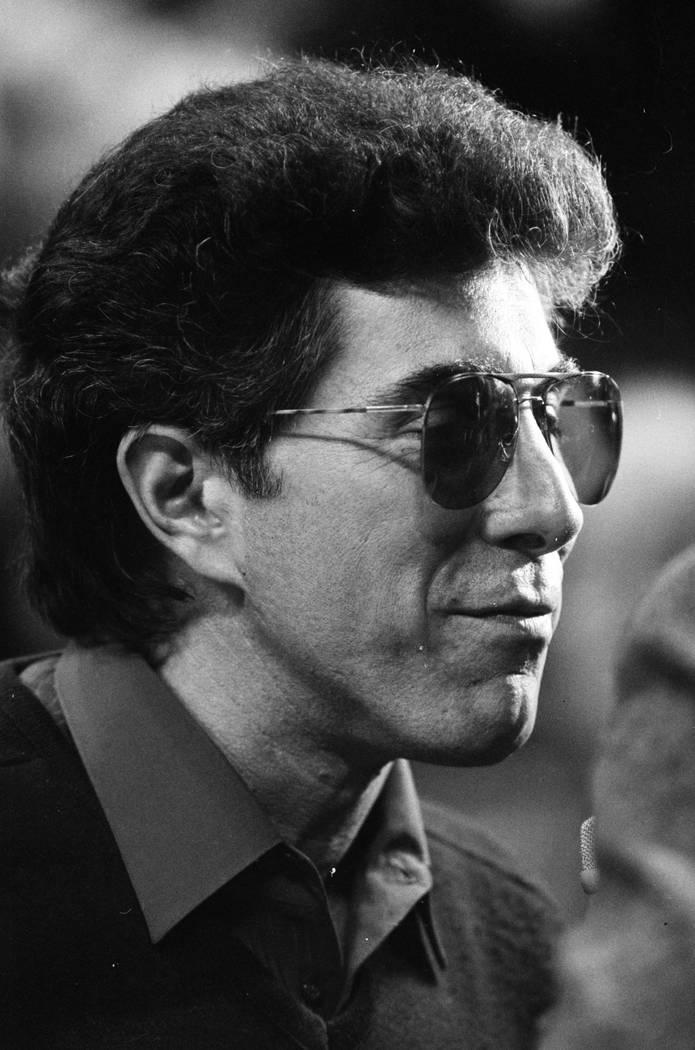 Steve Wynn in 1987. (Jeff Schied/Las Vegas Review-Journal)