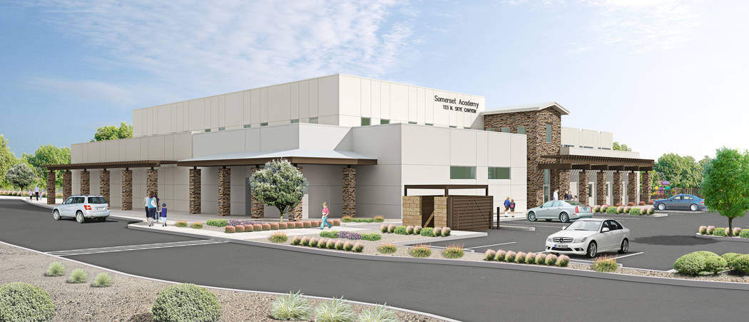 Skye Canyon will host a groundbreaking ceremony for Somerset Academy's Skye Canyon campus Feb. 20 at 11 a.m. (Somerset Academy)