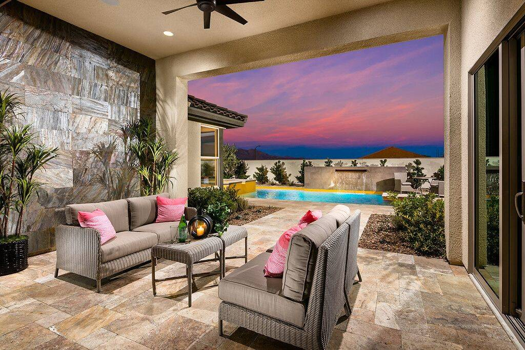 Pardee Homes' Keystone model incorporates indoor-outdoor living designs in the homes. (Pardee Homes)