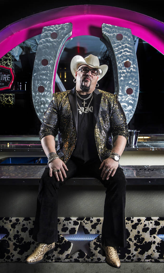 """Carlos """"Big Daddy"""" Adley is owner of Backstage Bar & Billiards, the Fremont Street music and entertainment venue set to celebrate it's fifth anniversary this year. Photo take ..."""