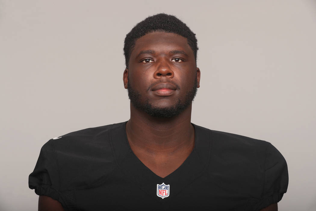 This is a 2017 photo of Ware Jylan Ware Jylan of the Oakland Raiders NFL football team. This image reflects the Oakland Raiders active roster as of Thursday, January 26, 2017 when this image was t ...