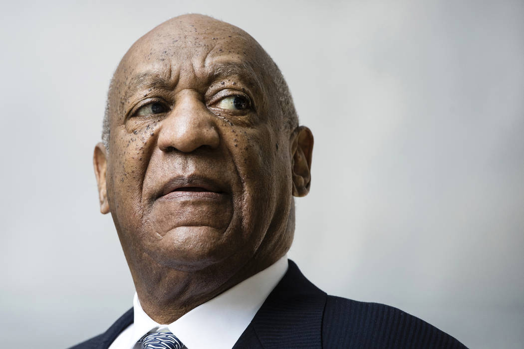 Bill Cosby departs after a pretrial hearing in his sexual assault case at the Montgomery County Courthouse in Norristown, Pa. on Aug. 22, 2017. (AP Photo/Matt Rourke, File)