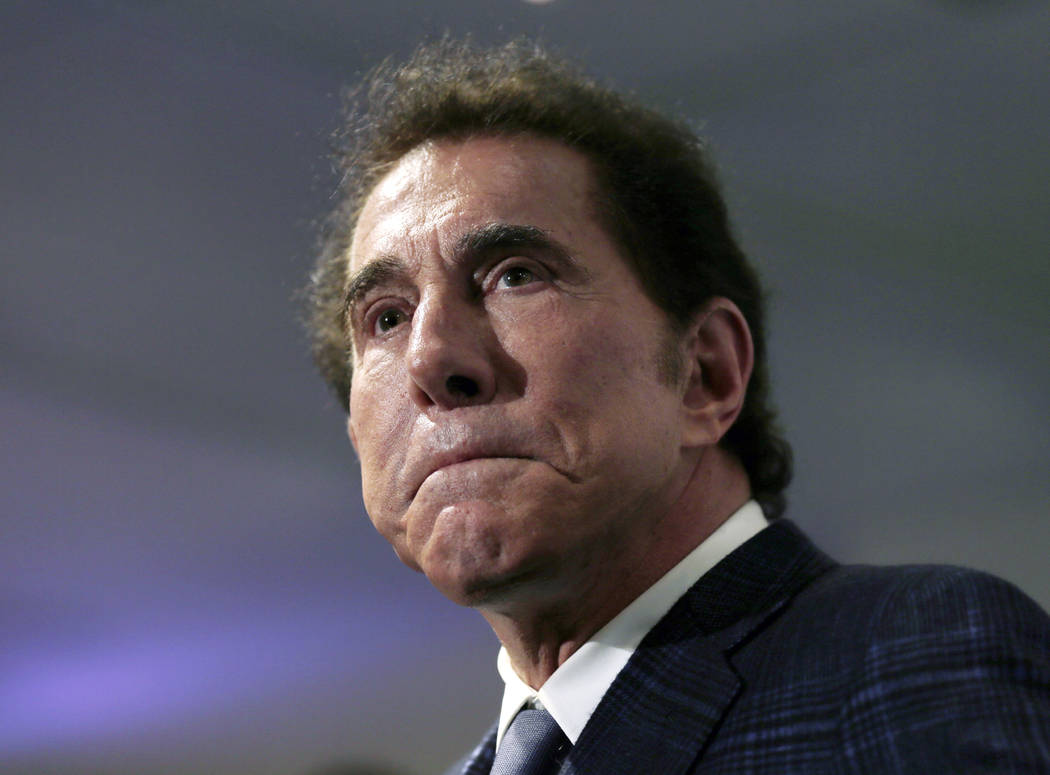 Casino mogul Steve Wynn at a news conference in Medford, Mass. on March 15, 2016. (AP Photo/Charles Krupa, File)