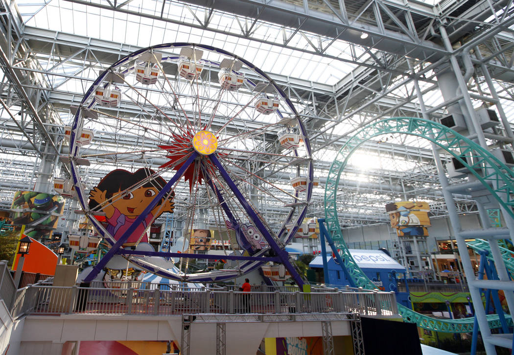 Nickelodeon Universe at the Mall of America in Bloomington, Minn., Thursday, Feb. 1, 2018. Heidi Fang Las Vegas Review-Journal @HeidiFang