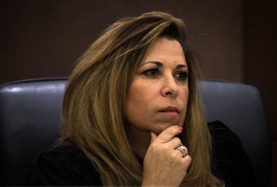 Nevada Court of Appeals Judge Abbi Silver listens during a Court of Appeals hearing on Wednesday, March 25, 2015, at the Regional Justice Center in Las Vegas. Las Vegas Review-Journal file photo
