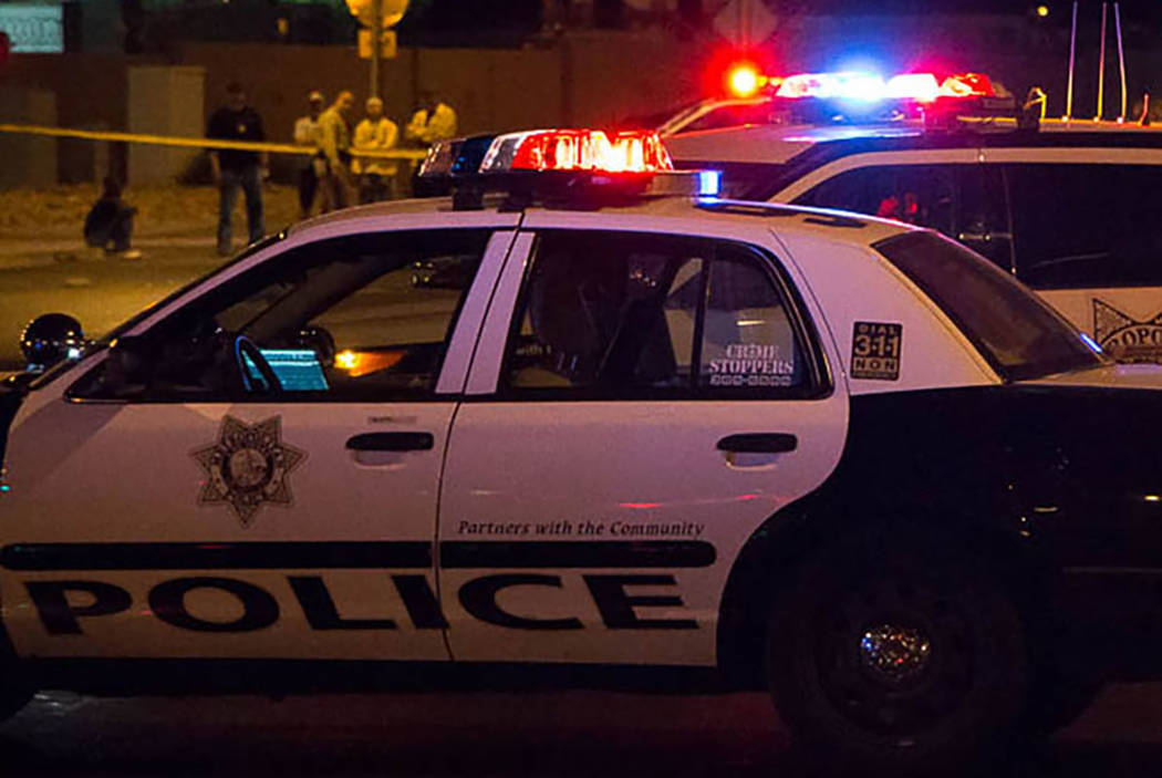 Las Vegas Metropolitan Police Department (Review-Journal File)