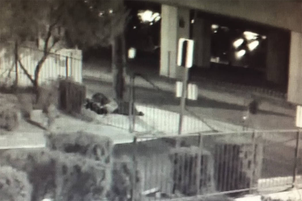Las Vegas police are investigating a homicide that occurred in the early morning of Feb. 2, 2018 near North 14th Street and US 95. (Las Vegas Metropolitan Police Department)