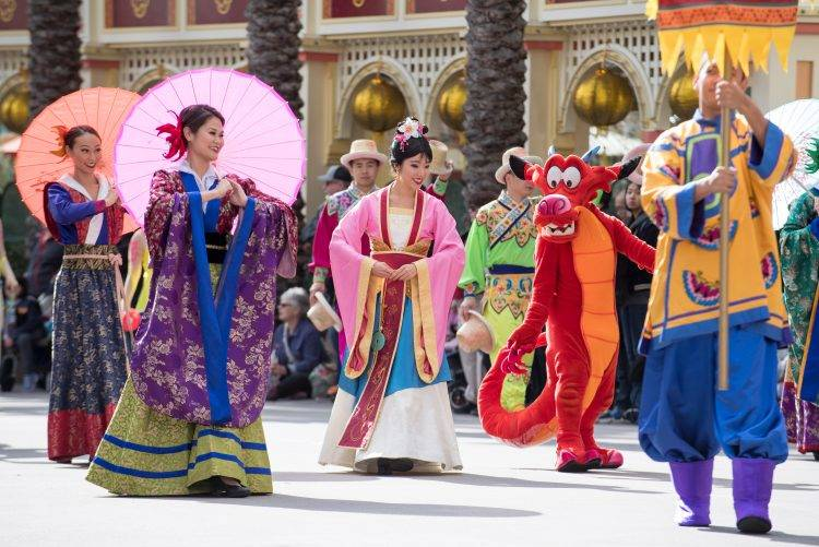 Through Feb. 18, visitors can celebrate Lunar New Year at California Adventure live entertainment and specialty food offerings. (Disneyland Parks)