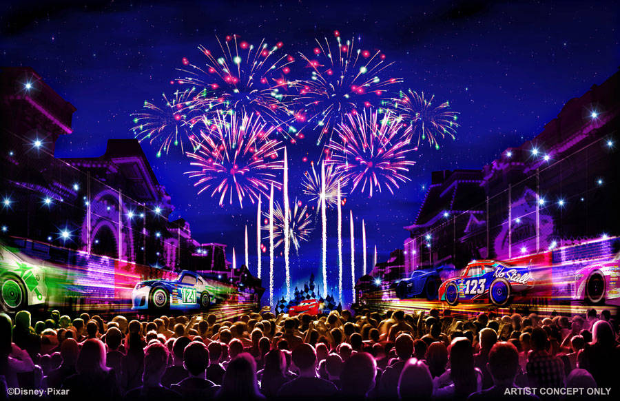 Pixar Pier will open April 13 during a limited-time Pixar Fest celebration that will feature new nighttime entertainment, characters and decor. (Disneyland Parks)