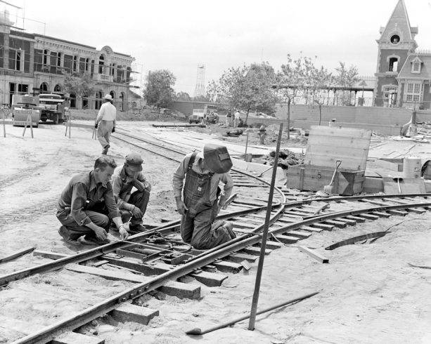 For the first time, the horse-drawn streetcar track on Main Street, U.S.A., will be replaced in its entirety.(Disneyland Parks)