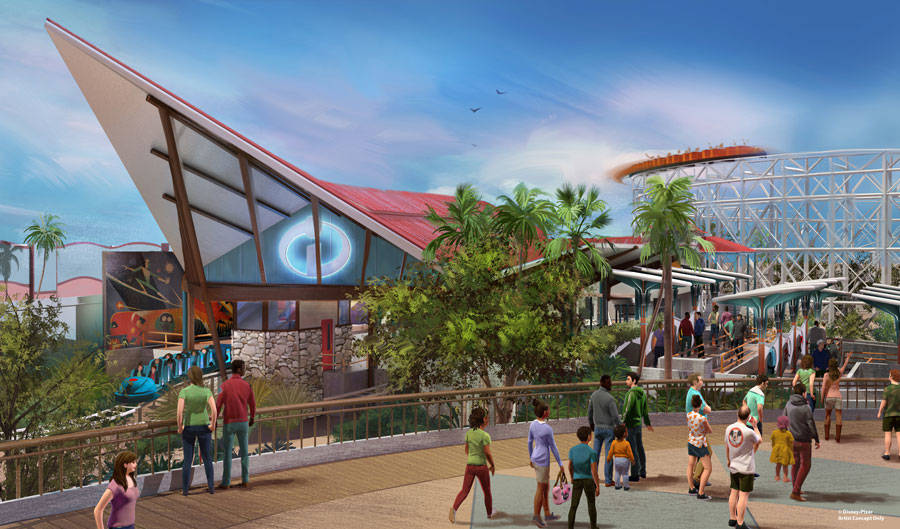 During D23 Expo 2017, Walt Disney Parks & Resorts Bob Chapek unveiled plans for Pixar Pier at Disney California Adventure, where the pier will take on a brand new look as more favorite Pixar c ...