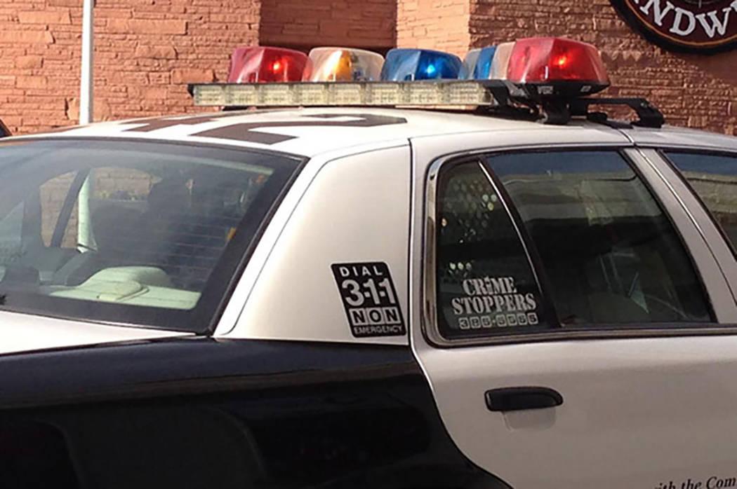 Las Vegas Metropolitan Police Department. (Las Vegas Review-Journal)
