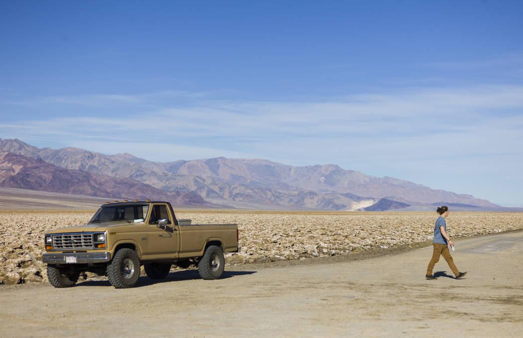 Devil's Golf Course in Death Valley National Park, Calif, on Wednesday, Jan. 24, 2018. Chase Stevens Las Vegas Review-Journal @csstevensphoto