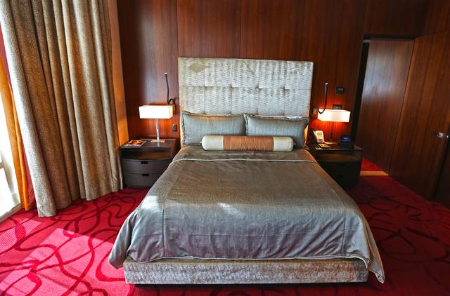 The Aria Sky Suites at Aria hotel-casino Thursday, March 17, 2016, in Las Vegas. Benjamin Hager/Las Vegas Review-Journal follow @benjaminhphoto