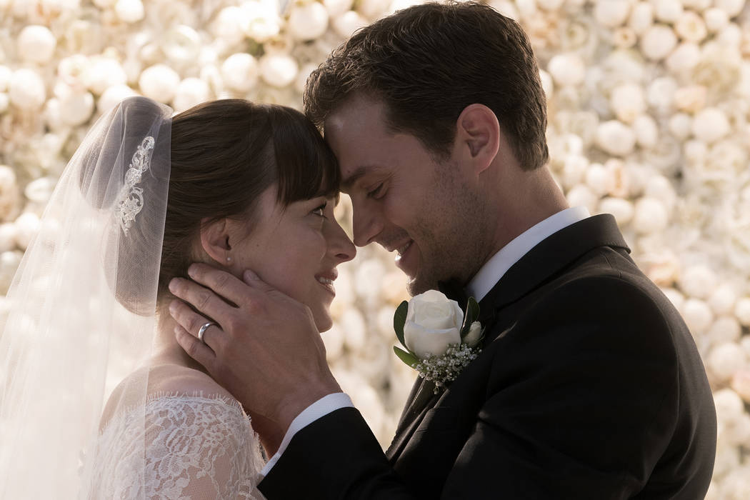 """Dakota Johnson and Jamie Dornan return as Christian Grey and Anastasia Steele in """"Fifty Shades Freed,"""" the climactic chapter based on the worldwide bestselling """"Fifty Shades"""" phenomenon.  (Uni ..."""