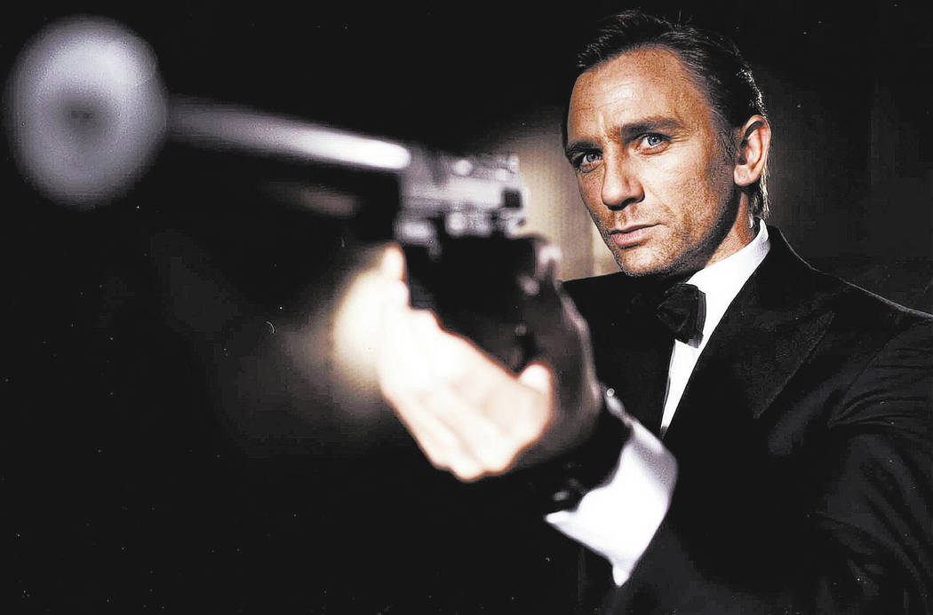 This photo made available in London Friday Oct. 14, 2005 by EON Productions, shows actor Daniel Craig as the latest James Bond. The 37-year-old actor was unveiled as the sixth movie superspy. (AP  ...