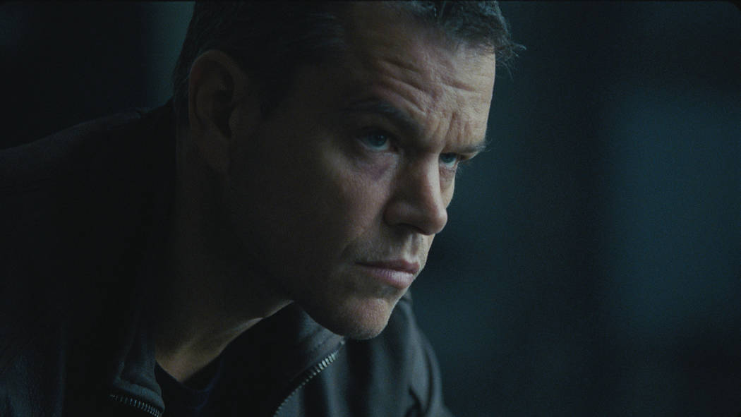 """Nine years after """"The Bourne Ultimatum,"""" Matt Damon returns to the spy franchise in the made-in-Vegas """"Jason Bourne.""""  (Courtesy Universal Pictures)"""