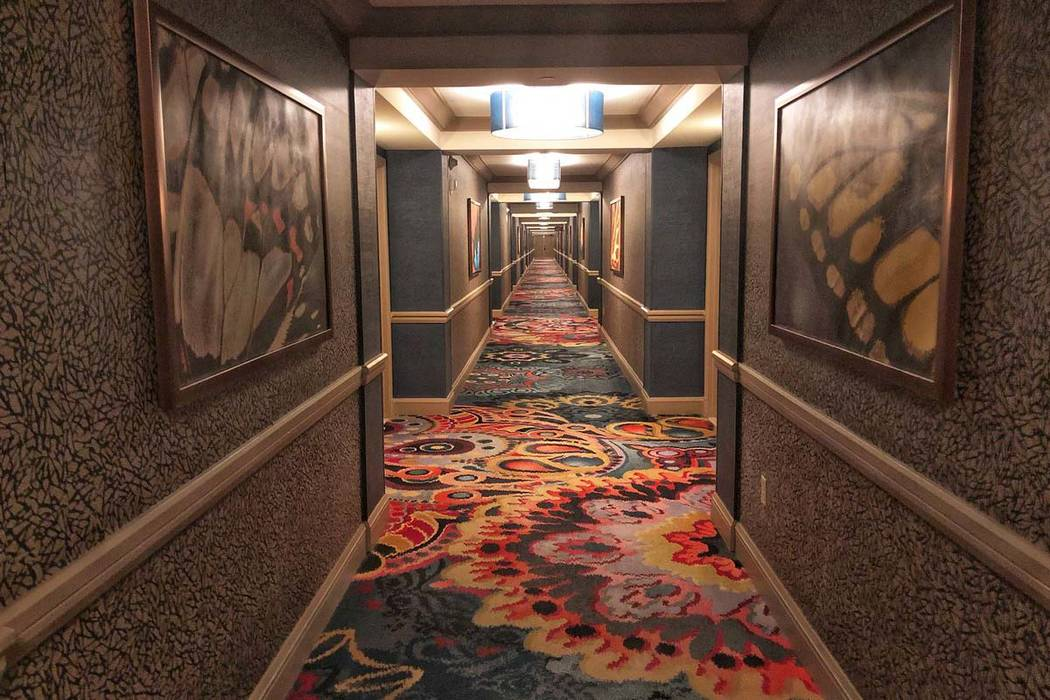 Mandalay Bay's 32nd floor. (Todd Prince/Las Vegas Review-Journal)