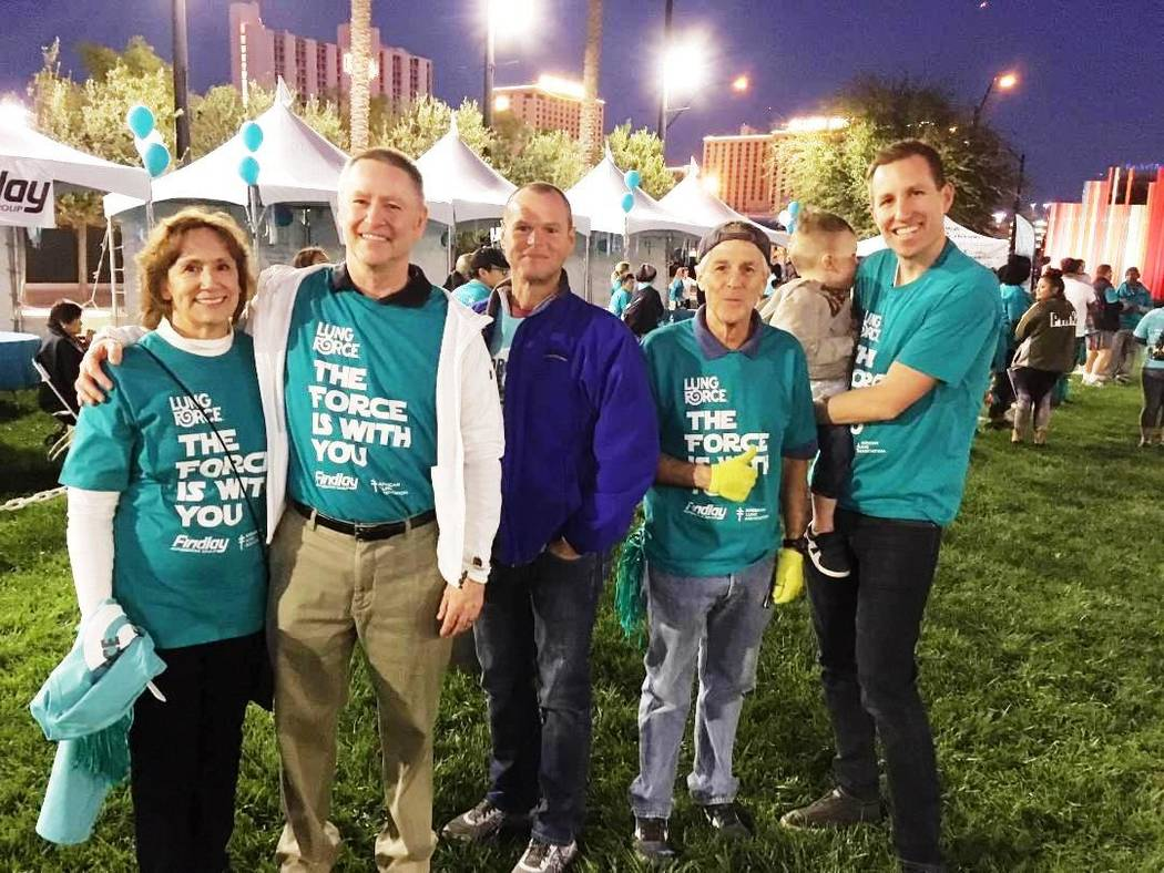 Findlay Automotive Findlay Automotive Group recently sponsored the annual Lung Force Walk at Symphony Park in downtown Las Vegas. From left are Marsha Corder and husband Tyler, the CFO of Findlay  ...