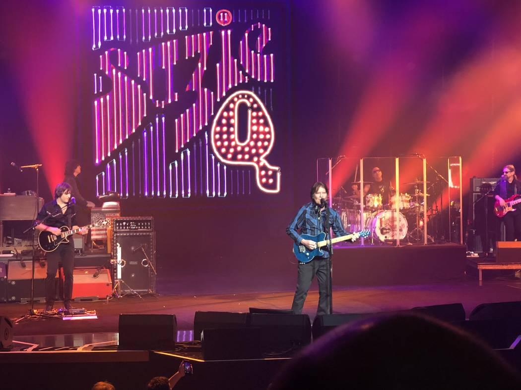 "John Fogerty uncorks ""Suzie Q"" at Encore Theater at Wynn Las Vegas on Wednesday, Jan. 10, 2018. (John Katsilometes/Las Vegas Review-Journal). @JohnnyKats"