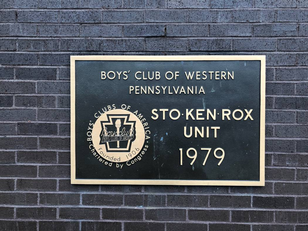 The sign of the Sto-Ken-Rox Boys and Girls Club in McKees Rock, Pa. is seen in this undated photo. (Ed Graney/Las Vegas Review-Journal)
