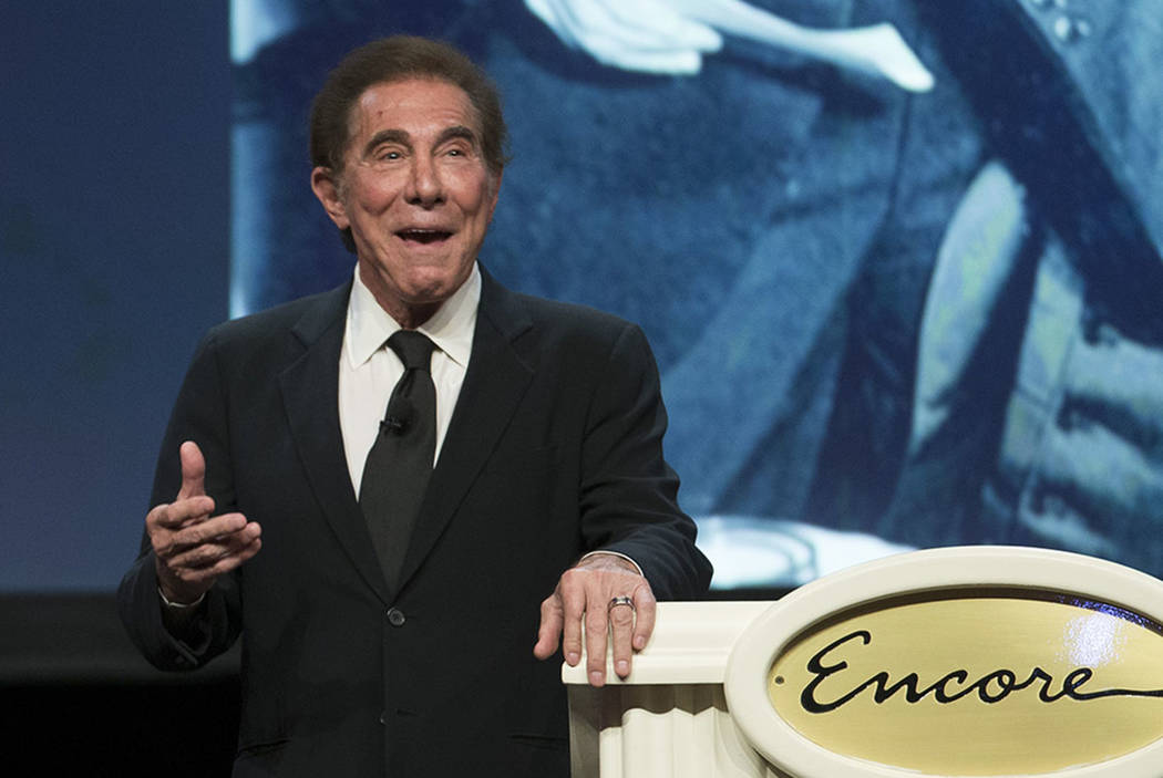 Steve Wynn, CEO of Wynn Resorts, seen in 2016 in Las Vegas. (Erik Verduzco/Las Vegas Review-Journal)