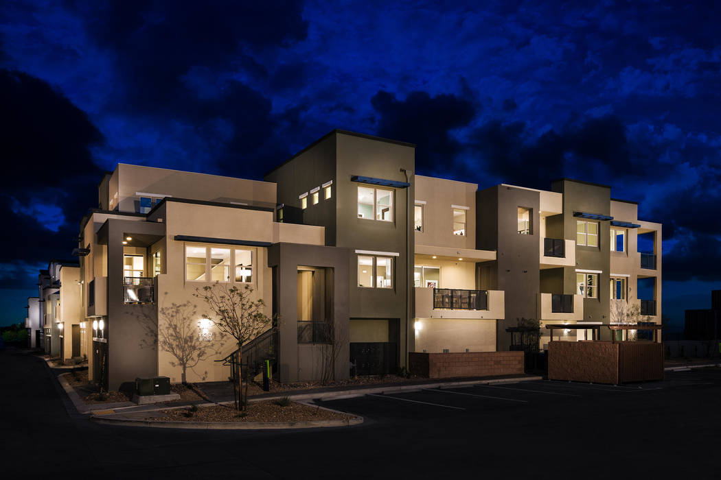 Affinity by William Lyon Homes is a urban-style community near Downtown Summerlin. (William Lyon Homes)