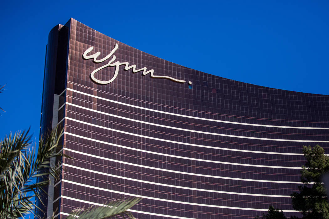 The Wynn Las Vegas on South Las Vegas Boulevard on Wednesday, Feb. 7, 2018. (Patrick Connolly/Las Vegas Review-Journal) @PConnPie