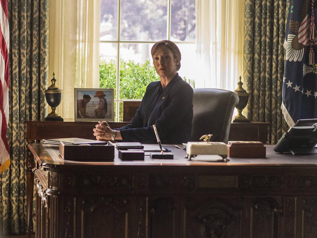 "Elizabeth Marvel as Elizabeth Keane in ""Homeland."" (Jacob Coppage/SHOWTIME)"