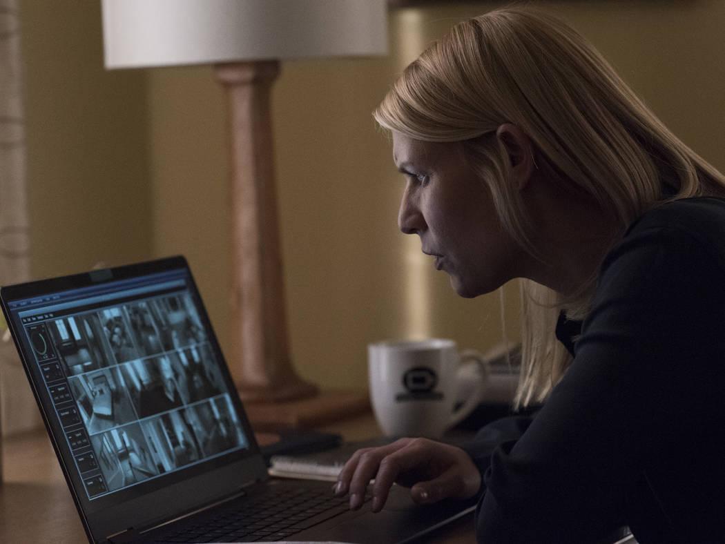 "Claire Danes as Carrie Mathison in ""Homeland."" (Antony Platt/SHOWTIME)"