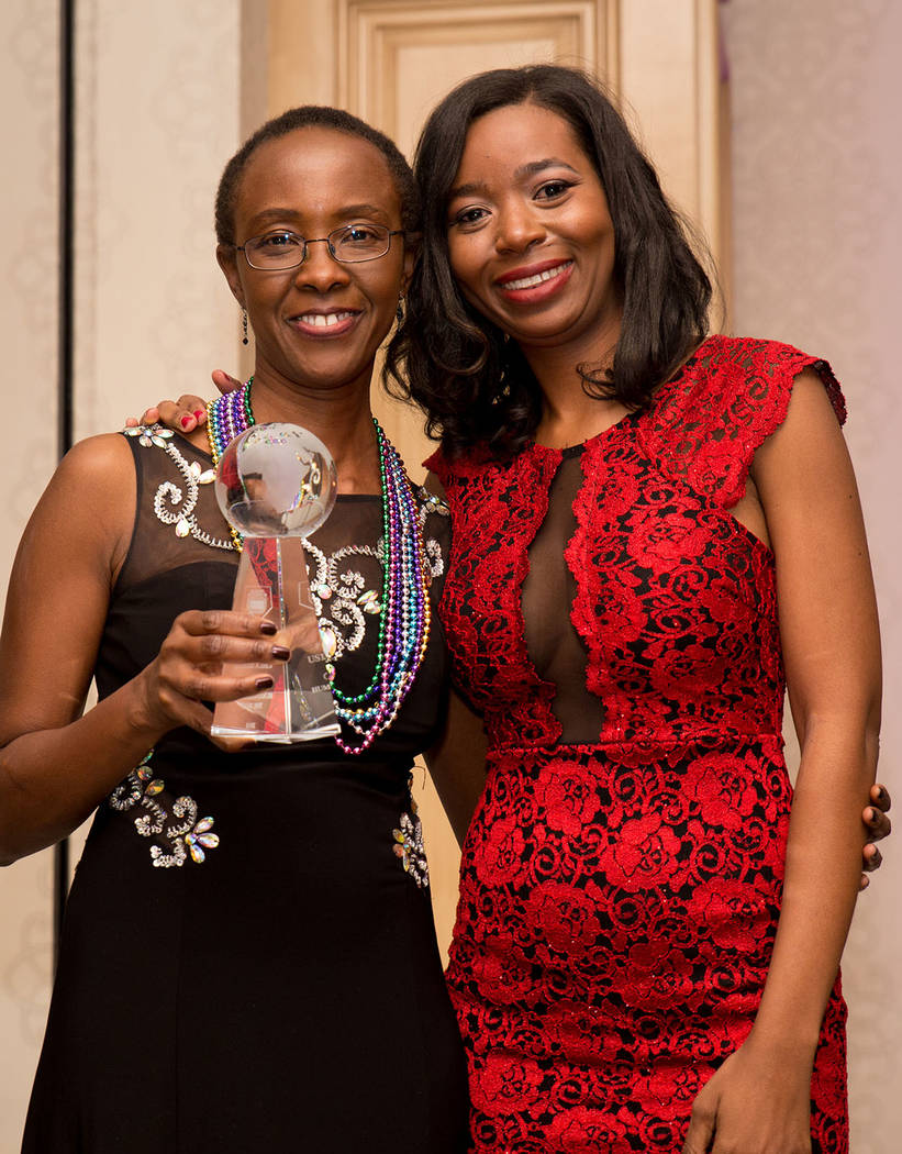 Usila C. Koech and Shanta Patton. (Tonya Harvey Las Vegas Business Press)