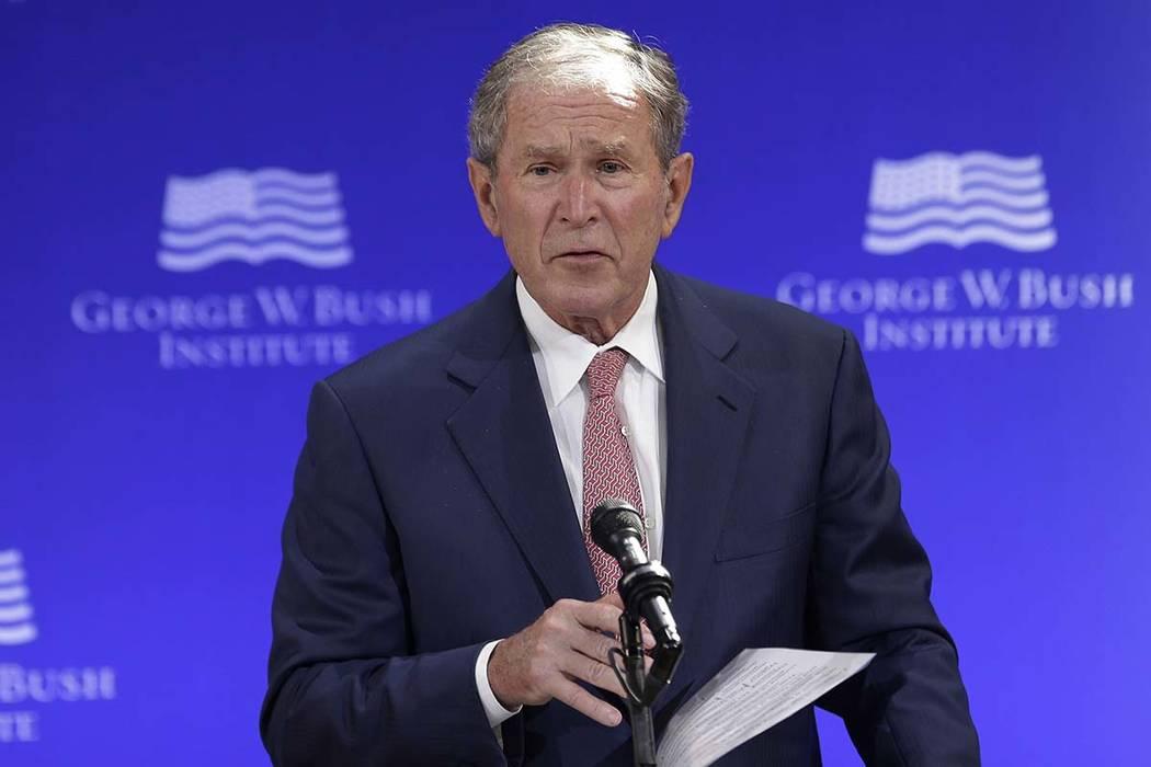 Former U.S. President George W. Bush (Seth Wenig, AP file)