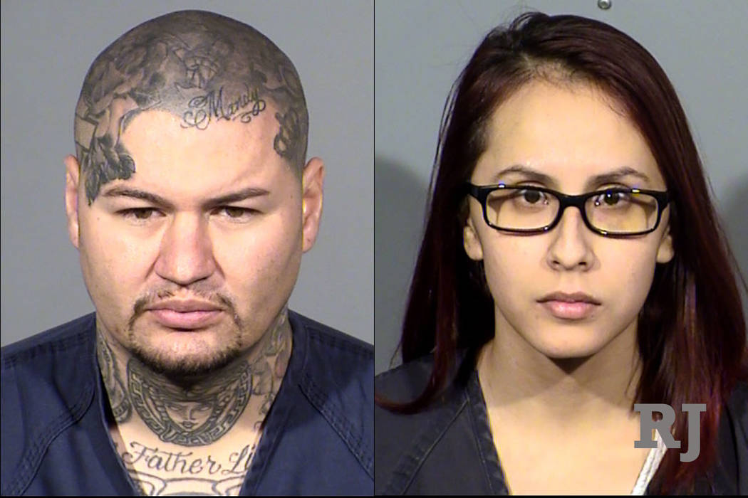 Joseph L. Fernandez Jr., 27, left, and Jessica Tolentino-Arciga, 26, right. (Las Vegas Metropolitan Police Department)