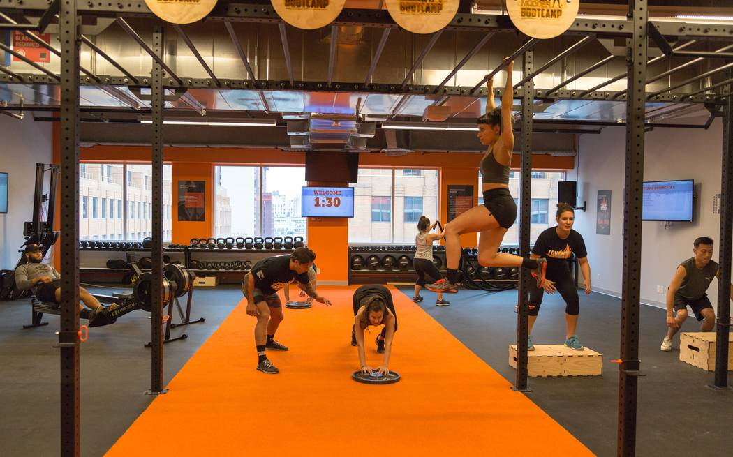The new brand, termed Tough Mudder Bootcamp, will offer high-intensity interval training when it opens in April. Courtesy of Tough Mudder