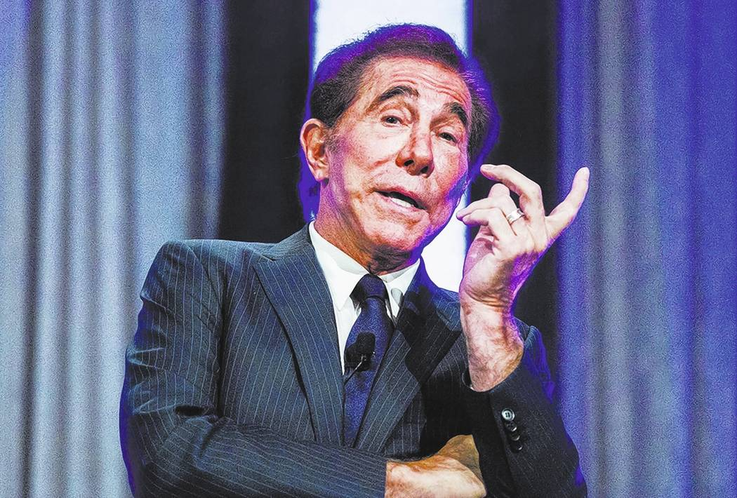 Casino resort developer Steve Wynn.  Jeff Scheid/Las Vegas Review-Journal Follow @jlscheid