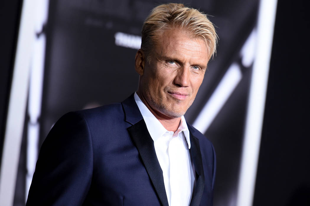"Actor Dolph Lundgren attends the LA Premiere of ""Creed"" held at the Regency Village Theater on Thursday, Nov. 19, 2015, in Los Angeles. (Photo by Richard Shotwell/Invision/AP)"